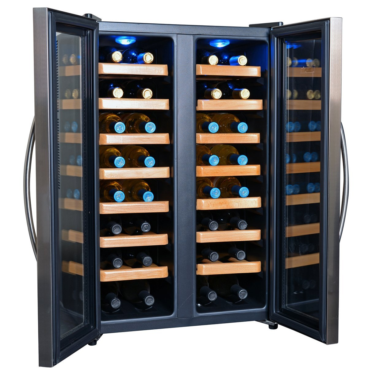 32 Bottle Dual Zone Thermoelectric Wine Cooler