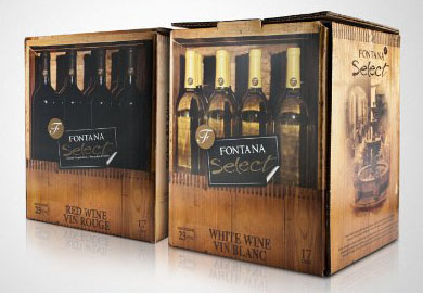 Fontana Select Crushed Grapes Wine Kits