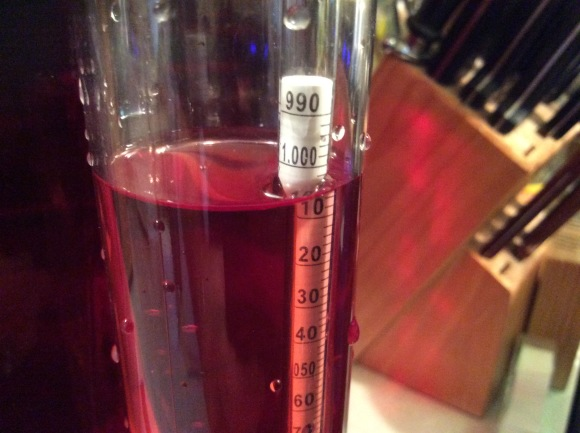 Backsweetening Dragons Blood Wine